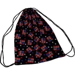 RockSax Run DMC Usa Logo Draw String Bag