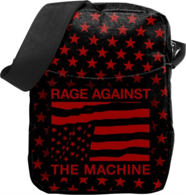 RockSax Rage Against The Machine Usa Stars Cross Body Bag