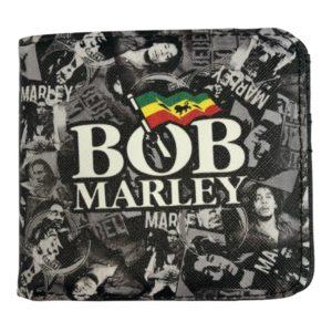 RockSax Bob Marley Collage Wallet