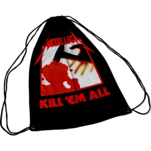 RockSax Metallica Kill 'em All Draw String Bag