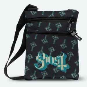 RockSax Ghost Crucifix Blue Body Bag