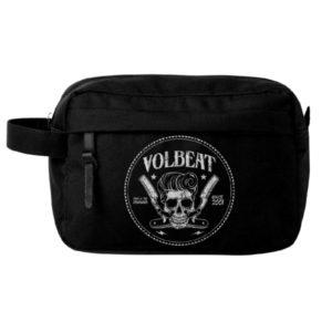RockSax Volbeat Barber Pocket Wash Bag