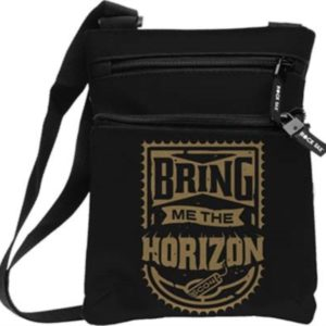 RockSax Bring Me The Horizon Gold Body Bag