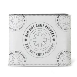 RockSax Red Hot Chili Peppers Outline Asterisk Wallet