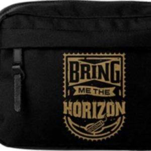 RockSax Bring Me The Horizon Gold Wash Bag