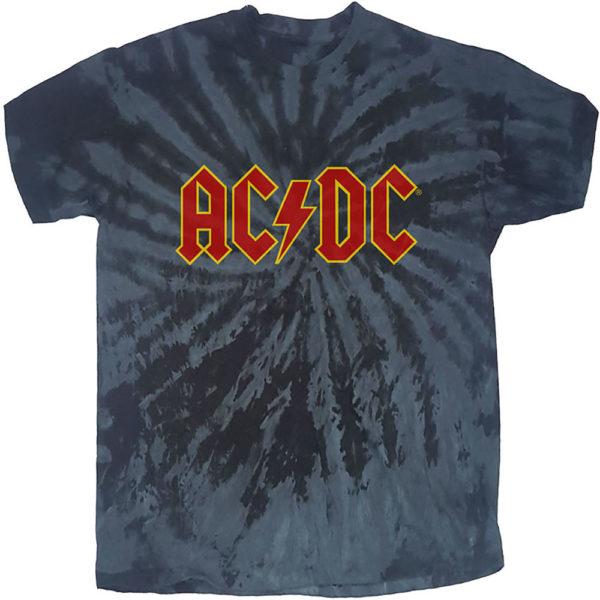 AC/DC Mens T-Shirt: Logo (Dip-Dye) (XX-Large)