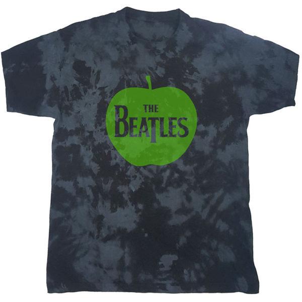 The Beatles Mens T-Shirt: Apple (Dip-Dye) (XX-Large)