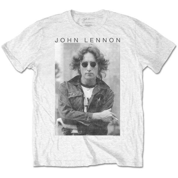 John Lennon Mens T-Shirt: Windswept (XX-Large)