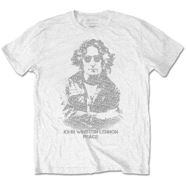 John Lennon Mens T-Shirt: Peace (XX-Large)