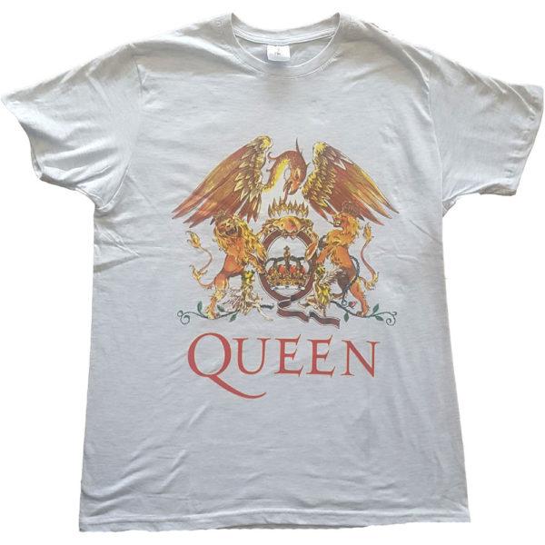 Queen Mens T-Shirt: Classic Crest (XXX-Large)