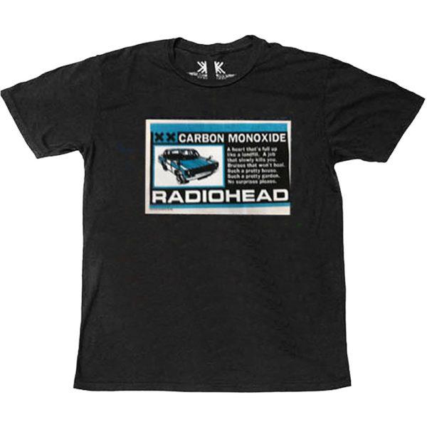 Radiohead Mens T-Shirt: Carbon Patch (XX-Large)