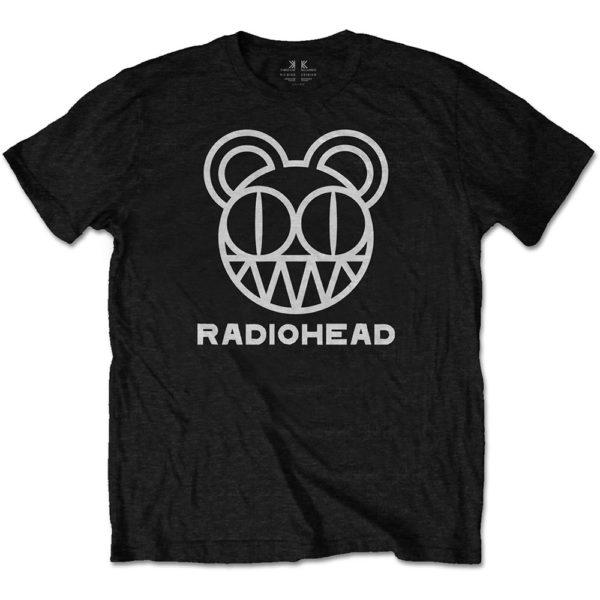 Radiohead Mens T-Shirt: Bear Head (XX-Large)