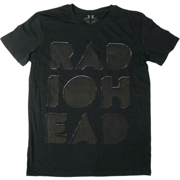 Radiohead Mens T-Shirt: Debossed Note Pad (XX-Large)