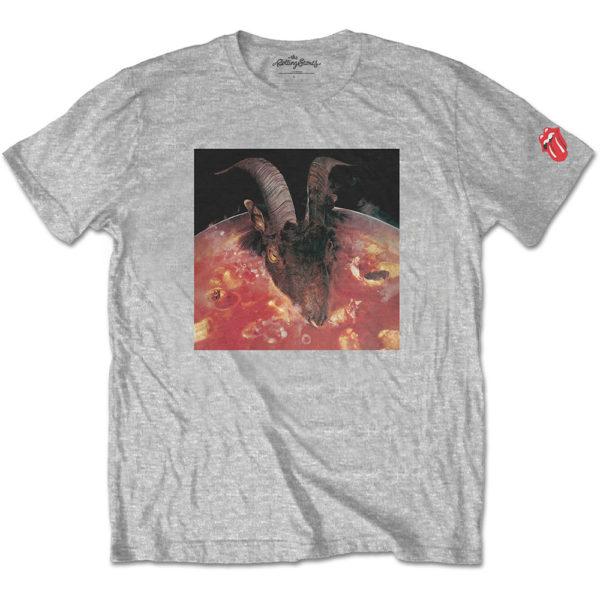 The Rolling Stones Mens T-Shirt: Goats Head Soup (Sleeve Print) (XXX-Large)