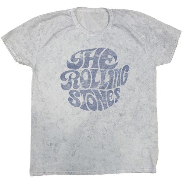 The Rolling Stones Mens T-Shirt: 70's Logo (Dip-Dye) (XX-Large)