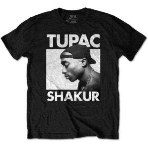 Tupac Mens Eco T-Shirt: Eyes Closed (XX-Large)