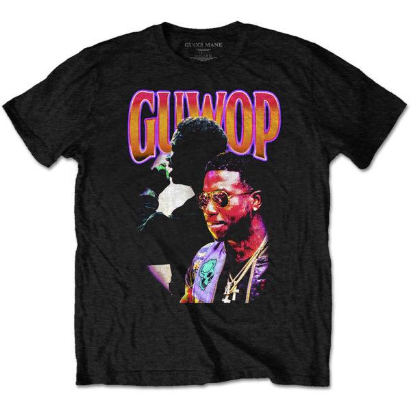Gucci Mane (GUWOP) Mens T-Shirt: Gucci Collage (XX-Large)