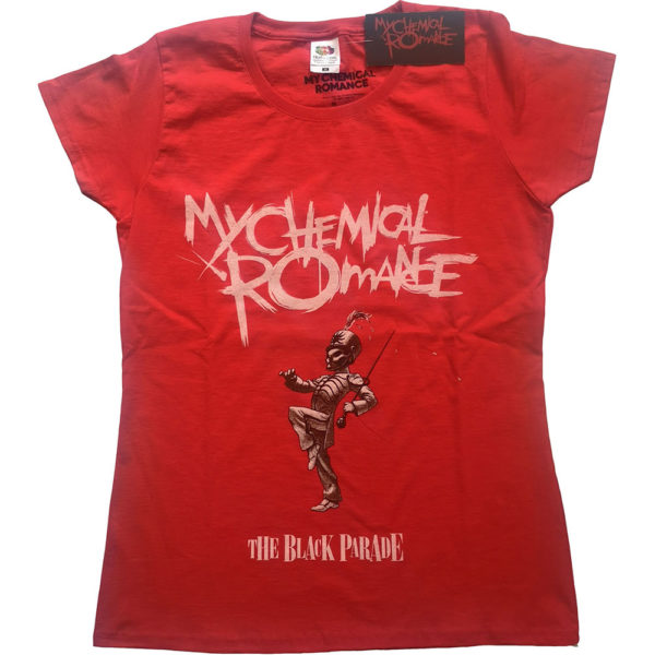 My Chemical Romance Ladies T-Shirt: The Black Parade Cover (XX-Large)