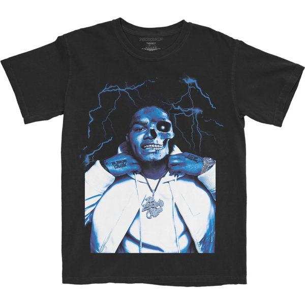 NoCap Mens T-Shirt: Half Skele (XX-Large)