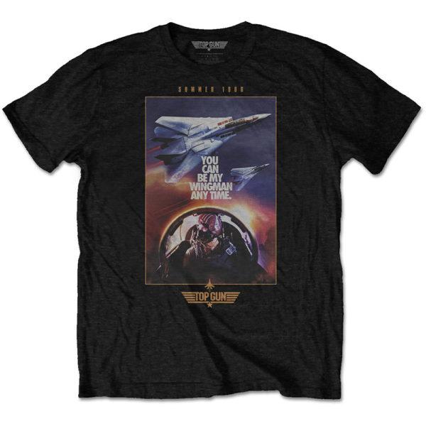 Top Gun Mens T-Shirt: Wingman Poster (XX-Large)